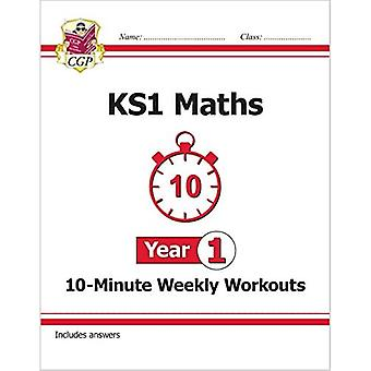 New KS1 Maths 10-Minute Weekly Workouts - Year 1