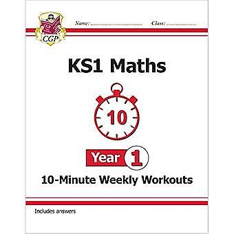 Ny KS1 matematik 10 minutters ugentlig træning-år 1