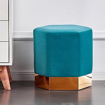 Lucci Lux Pouffe Teal