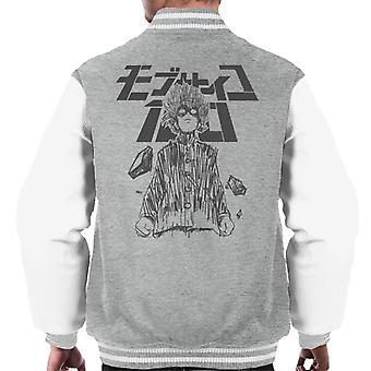 Mob Psycho 100 Shigeo Kageyama Powers Men's Varsity Jacket