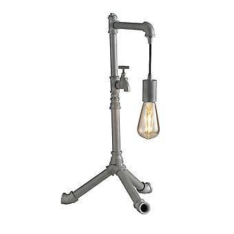 Pipe Effect Statief tafellamp, zink, E27