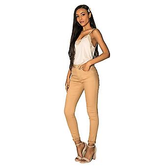 Women Denim Jeans Stretch Trousers Skinny Tubes Jaggings Push Up SIMPLY CHIC