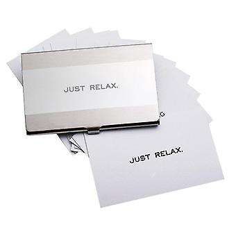 Just Relax Cards