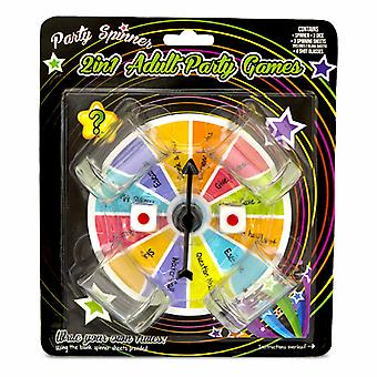 1x2 in 1 Party Spinner Drinking Game