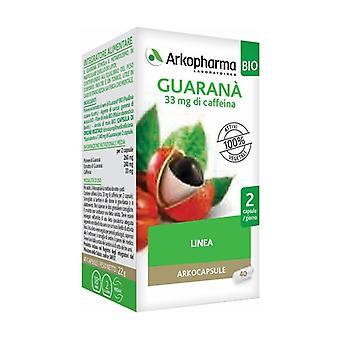 Arkocapsule Guaraná Bio 40 capsules