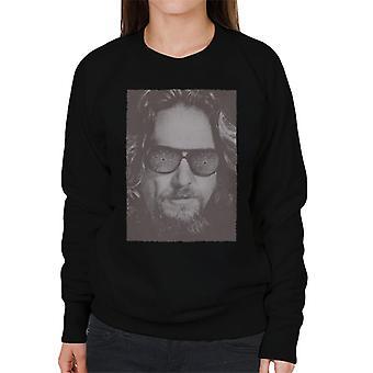 The Big Lebowski The Dude Face Carpet Shades Nostalgia Women's Sweatshirt