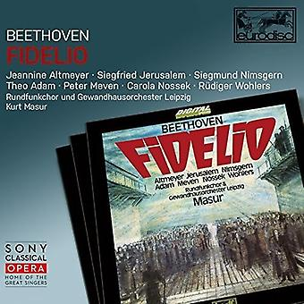 Kurt Masur - Fidelio [CD] USA tuonti
