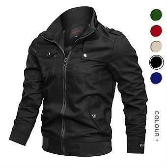 Military Jacket Men Spring Autumn Cotton Windbreaker Pilot Coat