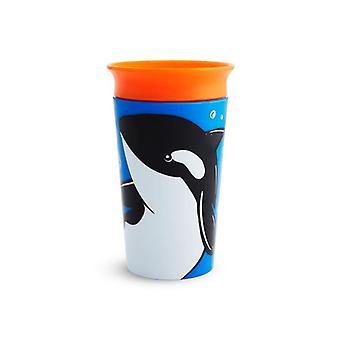 Munchkin mirakel 360 sippy kopp vild kärlek orca 266ml