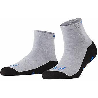 Burlington Running Ankle Socks - Light Grey