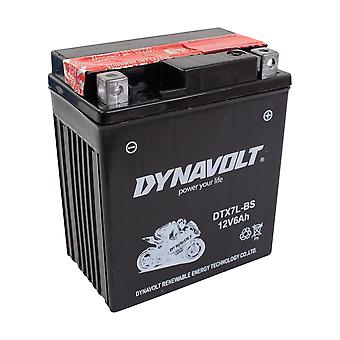 Dynavolt DTX7LBS Maintenance Free Battery With Acid Pack YTX7L-BS
