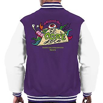 Shrek Tacos El Ogre Loco Men's Varsity Jacket