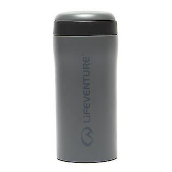 New Lifeventure Hiking Hydration Vacuum Insulated Flask Thermal Mug Grey
