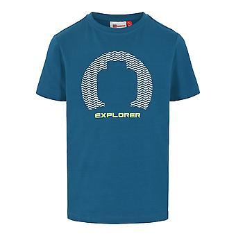 Lego nosić Legowear Boys Lego Tshirt Explorer Dark Turquise