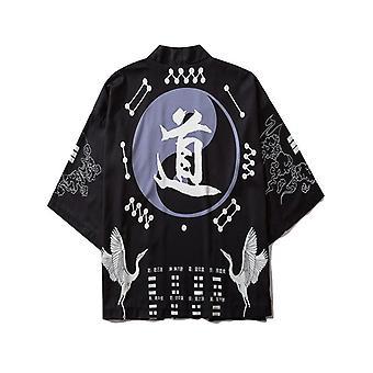 Stil japonez Casual Streetwear Cardigan Japonia Harajuku Anime Thin Robe