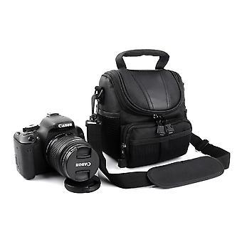 カメラケースバッグ(カノンパワーショット用)(ブラック)