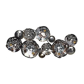Wall Decoration Dekodonia Circles Metal Modern