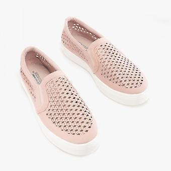 Skechers Poppy Diamond Gal Dames Glisser sur trainers rose clair