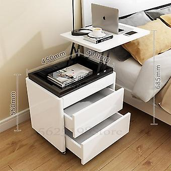 Multi-function Lift Bedside Table, Small Computer Desk
