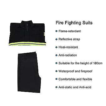 Flame Retardant Fire Fighting Suit