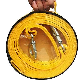 Tow strap with hooks car vehicle recovery rope trailer 11,023 lbs capacity heavy duty for truck suv,4m