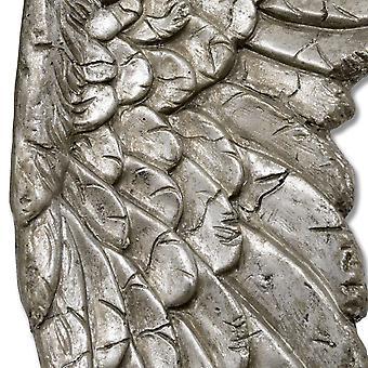 Colina de interiores antiguos alas de Ángel plata