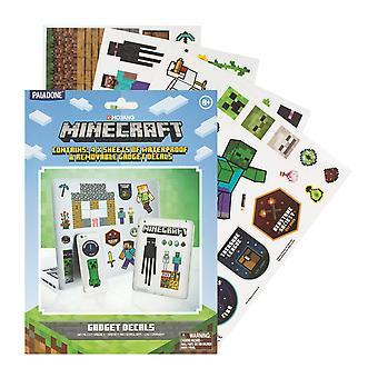 Minecraft, Gadget Stickers - 4 Sheets