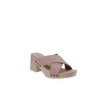 Seven Dials | Malta Block-Heel Slide Sandals