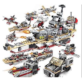 Blocos de construção de aeronaves da Marinha de Navio de Guerra Militar