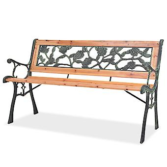 Garden Bench 122 Cm Wood