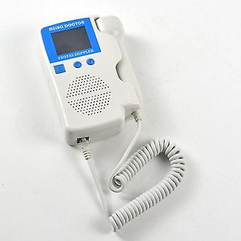 Ručný fetálny doppler prenatálny detektor srdcovej frekvencie dieťaťa sonar doppler monitor srdcového tepu pre tehotné ženy homeuse us stock