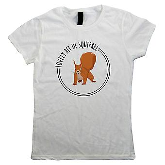Lovely Bit Of Squirrel, Womens Funny T Shirt - Friday Night TV Show Gift Her