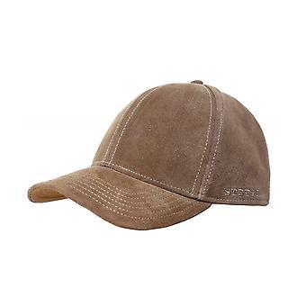 Stetson Calf Leather Baseball Cap