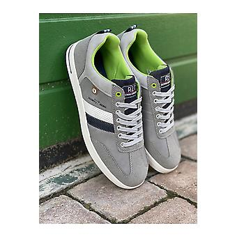 Route 21 Mens Route 21 Grey Memory Foam Casual Trainer