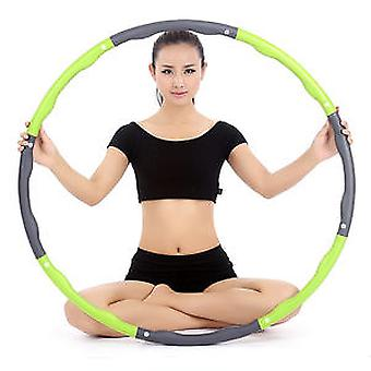 Soft Plastic Foam Hula Collapsible Weighted Folding Exercise Detachable Hoola Padded Hoop