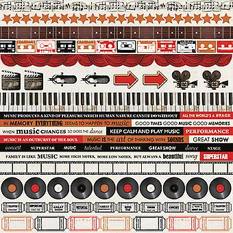 Kaisercraft - On Stage 12x12 Sticker Sheet