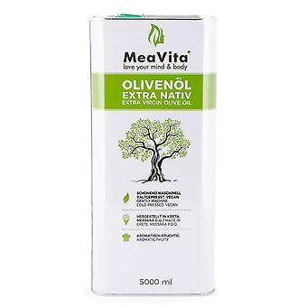 MeaVita Olivenl, extra nativ & kaltgepresst, 1er Pack (1x 5000 ml) im Kanister