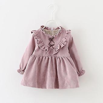 Новое зимнее платье для новорожденных, детское платье