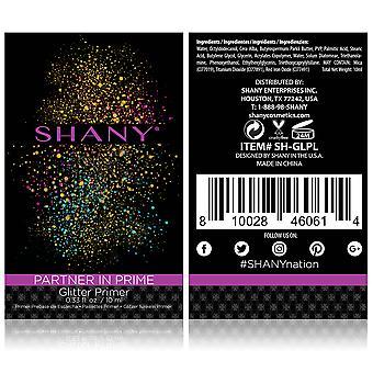 SHANY Partner In Prime Glitter Primer - Long-Lasting Sticky Glitter Makeup Base/Eyeshadow Primer for Face, Eyes and Lips
