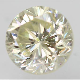 Sertifioitu 0,45 karat I VVS2 pyöreä loistava parannettu luonnollinen löysä timantti 4,58m