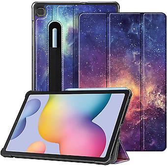 FengChun Hlle fr Samsung Galaxy Tab S6 Lite - Ultra Schlank Kunstleder Schutzhlle mit Stifthalter,