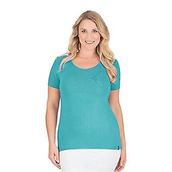 Trigema 542201 T-Shirt, Green (Mint 151), M Woman