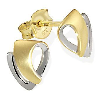 Goldmaid Women's Gold Pearl Earrings 2 Colors