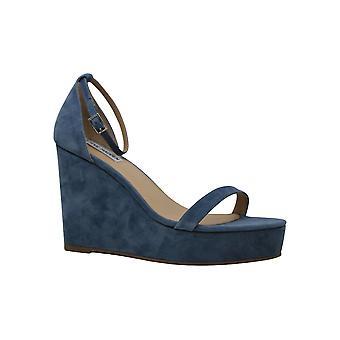 Steve Madden dame succes læder åben tå formelle platform sandaler