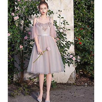 Elegant kortärmad festklänning ( Set 1)
