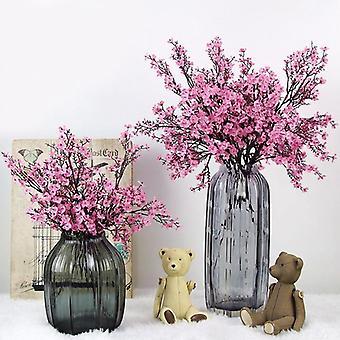 Kunstige blomster, Kirsebærblomster, Gypsophila, Falske planter, Diy Wedding