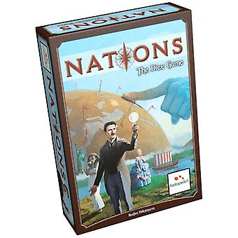 Nations The Dice Board Game