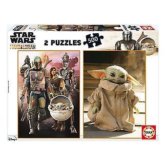 Puzzle The Mandalorian Baby Yoda Educa (500 pcs)