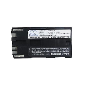 Cameron Sino Bp970 Battery Replacement For Canon Camera