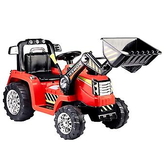 Graafmachine elektrisch bestuurbaar met bestuurbare arm – rood